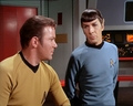Captain Kirk and Spock - james-t-kirk photo