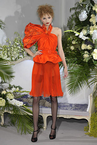 Christian Dior Fall 2009 Couture Collection