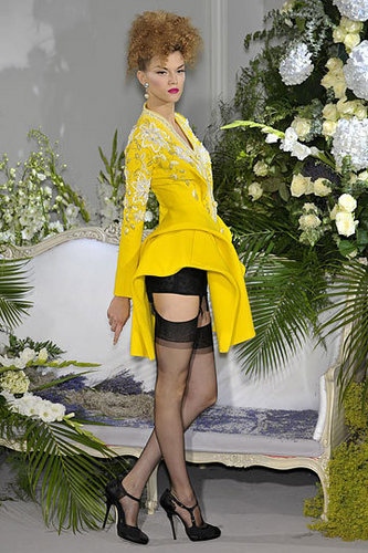 Dior wallpaper probably containing a hip boot entitled Christian Dior Fall 2009 Couture Collection