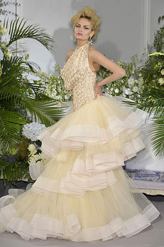 Dior wallpaper with a bridal gown and a gown called Christian Dior Fall 2009 Couture Collection