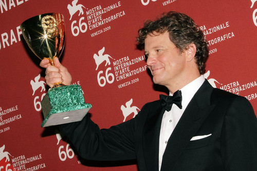 Colin Firth at 66th Venice Film Festival Closing Ceremony Photocall