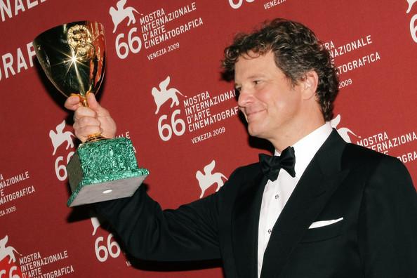 Colin Firth at 66th Venice Film Festival Closing Ceremony Photocall