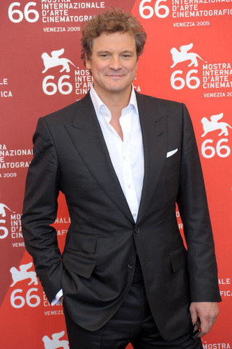 Colin Firth at 66th Venice Film Festival