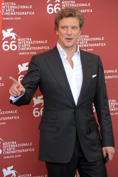 Colin Firth at 66th Venice Film Festival