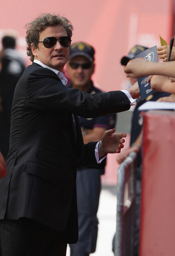 Colin Firth at jour 10 of 66th Venice Film Festival