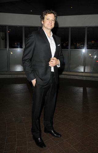 Colin Firth at Dorian Gray After Party in Londres