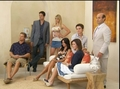 Cougar Town TV guide Shoot BTS - christa-miller screencap