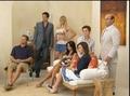 Cougar Town TV guide Shoot BTS - christa-miller screencap