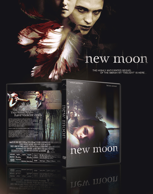 Could be New Moon Cover and Poster