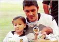 David Villa's family
