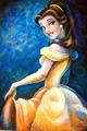 A Portait of Belle - classic-disney fan art