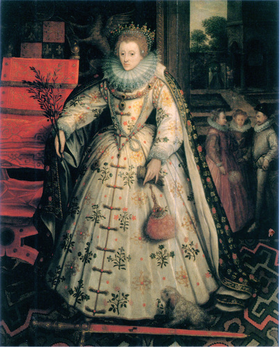 Kings and Queens wallpaper probably with a polonaise and a kirtle called Elizabeth I, Queen of England