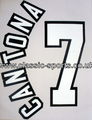 Football Nameset Cantona 7