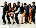 Glee - Entertainment Weekly Shoot