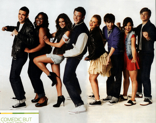 Glee - Entertainment Weekly Shoot - glee Photo