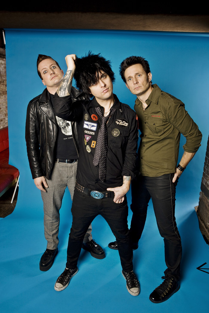 Green Day Photoshoot