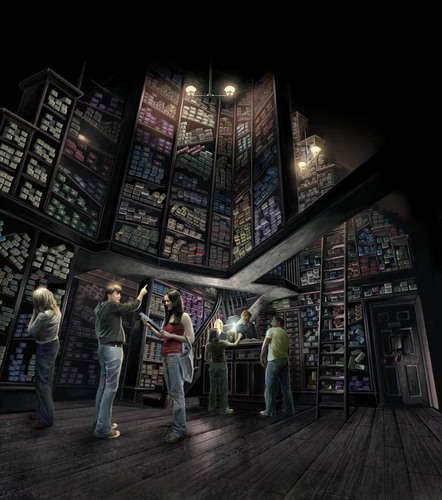 HP Theme Park Artwork (Ollivanders)