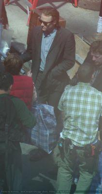 Heath, behind scenes