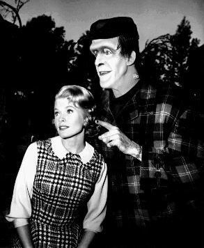 Herman and Marilyn Munster
