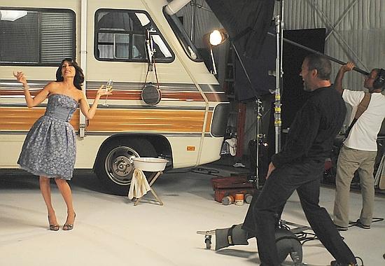 Hugh and Lisa S6 photo shoot