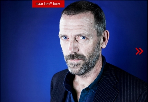 Hugh in Maarten de Boer shoot.