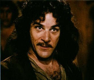 The Princess Bride: Inigo Montoya wallpaper with a portrait called Inigo Montoya