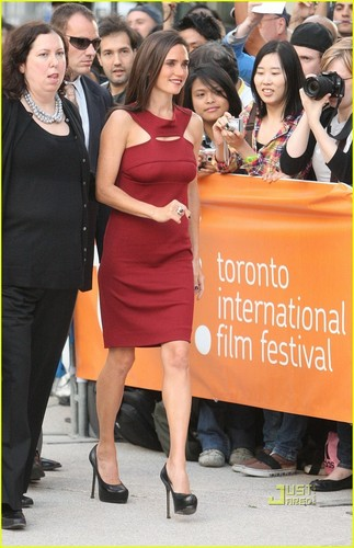Jennifer @ the Toronto Film Festival
