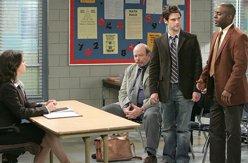Justin Bartha in Teachers