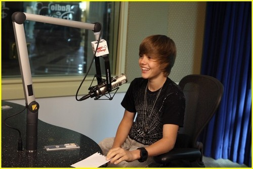 Justin Hosting Radio Disney