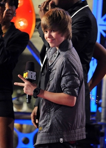 Justin at the MTV VMA's