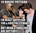 KANYE INTERUPTING ROB AND KRISTEN - twilight-series photo