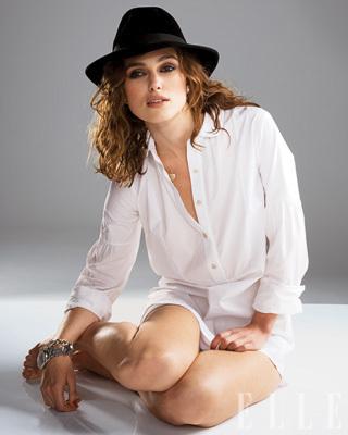 Keira Knightley in Elle Magazine