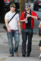 Kellan and Peter inVancouver - twilight-series photo