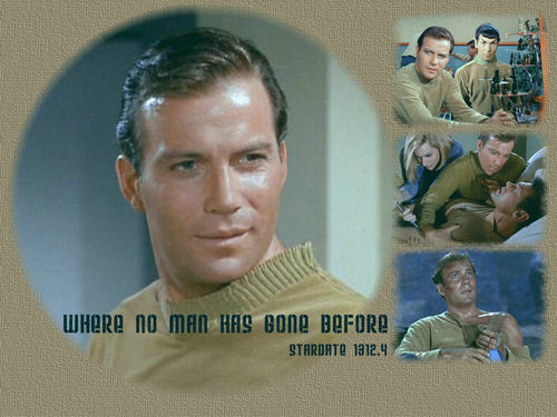 Kirk in ''where no man has gone before''