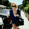 Lindsay Lohan photo possibly containing a street called LL
