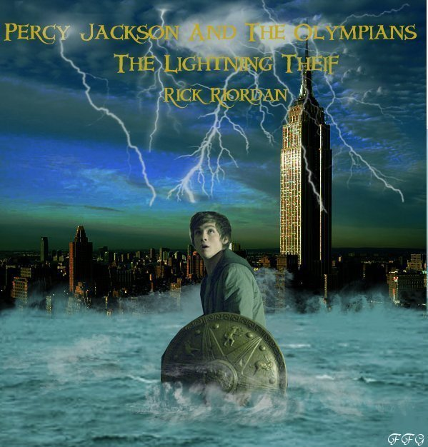 ... Jackson & The Olympians Books Lightning Theif Movie Poster (Fan Made