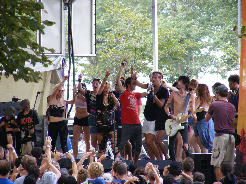 Lollapalooza Muzik Festival 2009 - August 9, 2009 Performance