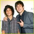 Lorenzo Henrie w/ Big Brother David