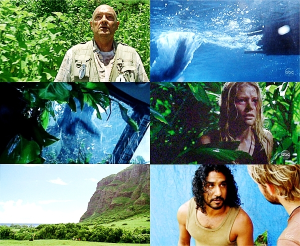lost S1 as cores - Green & Blue Picspam!