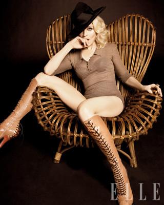 Madonna in Elle Magazine