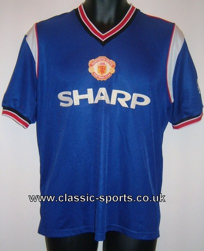 Manchester United 1984 Football camisa, camiseta