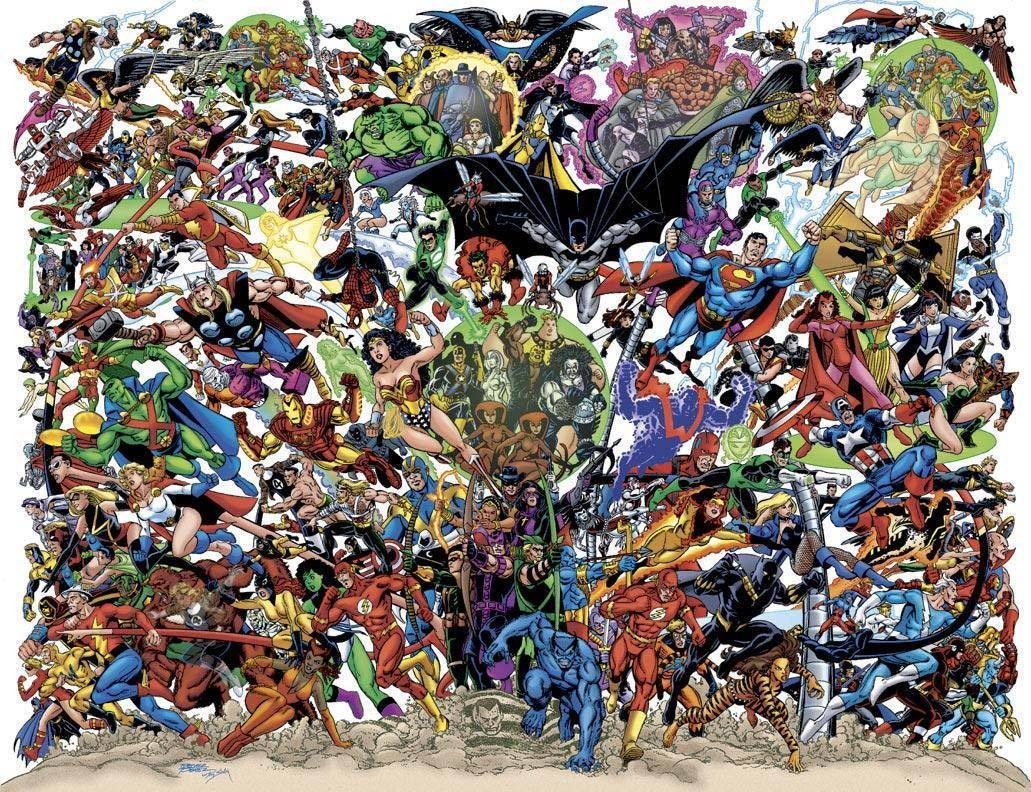Marvel Comics VS DC Images HD Wallpaper And Background Photos