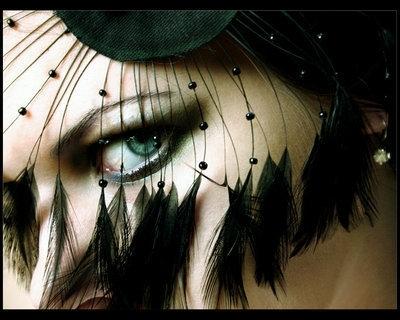 Masked eye