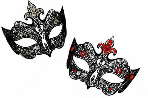 Masquerade wallpaper probably with a fleur de lis entitled Masks