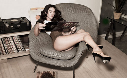 Megan Fox in the October 2009 Issue of Rolling Stone Magazine