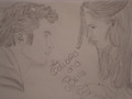 My drawing Edward and Bella New Moon - twilight-series photo