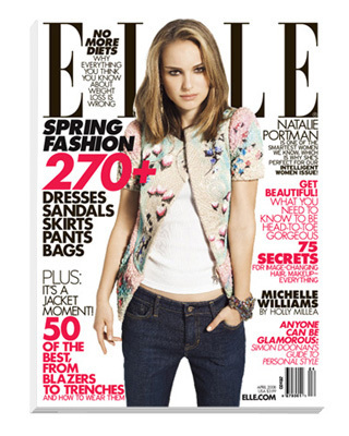Natalie Portman in Elle Magazine