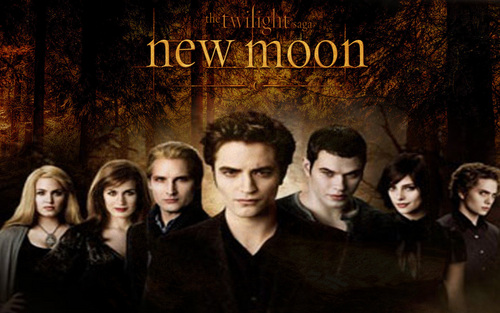 New Moon - The Cullens!