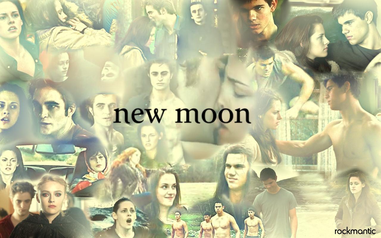New Moon - twilight-series wallpaper