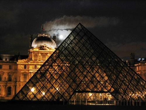 Night at Louvre